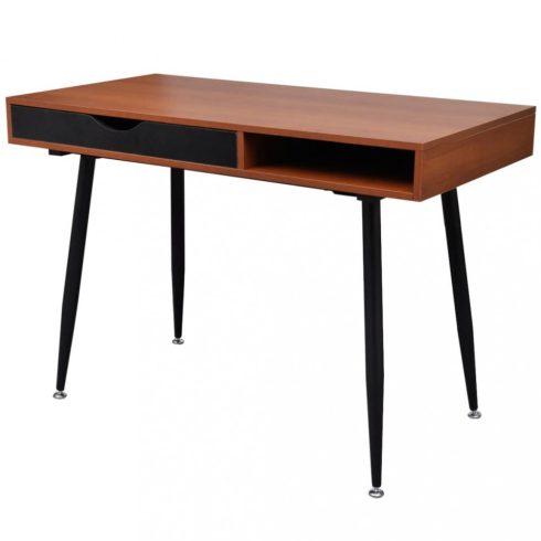 Munkaállomás számítógép íróasztal laptop asztal barna