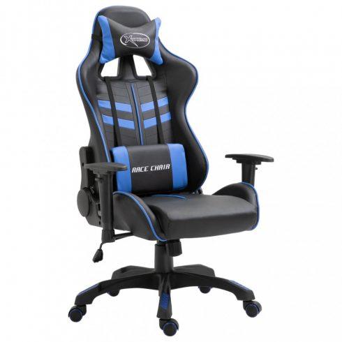 Kék pu gamer szék