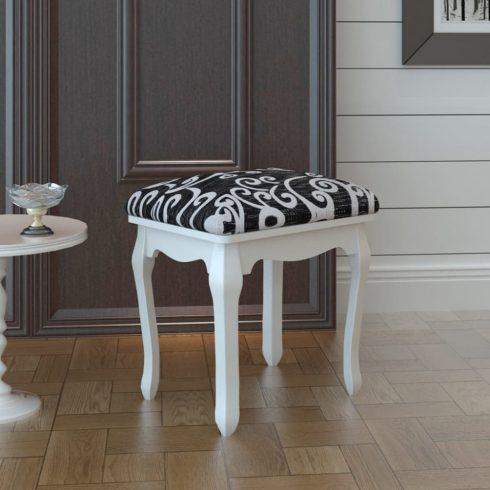 Öltöző szék fekete