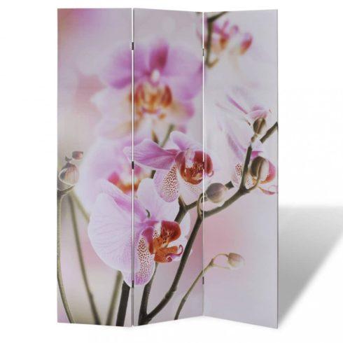 Virágmintás paraván 120 x 170 cm