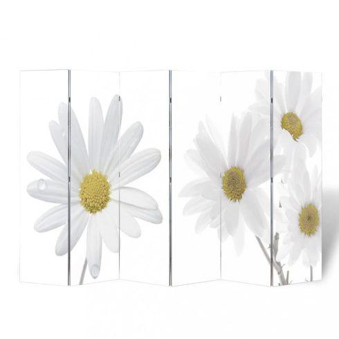 Virágmintás paraván 240 x 170 cm