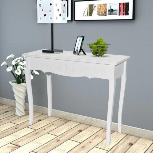 Fehér fésülködőasztal