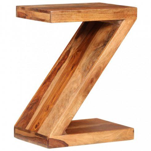 Z-alakú tömör kelet-indiai rózsafa kisasztal