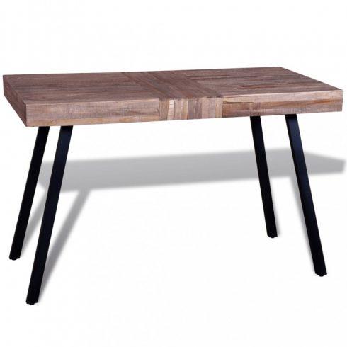 Újrahasznosított tíkfa asztal