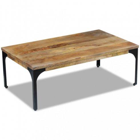 Mangófa dohányzóasztal 100x60x35 cm