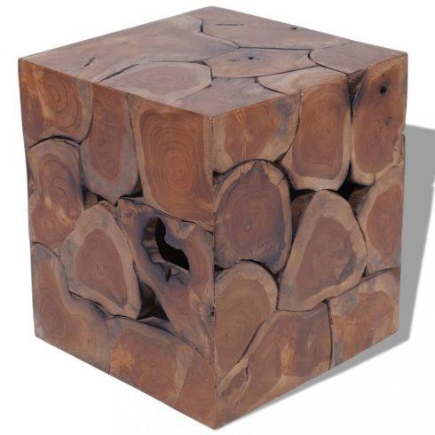 Tömör tíkfa szék 40x40x45 cm
