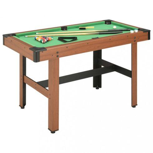 Barna biliárdasztal 122 x 61 x 76 cm